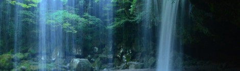 鍋ヶ滝・熊本県【フォトジェニック美滝】