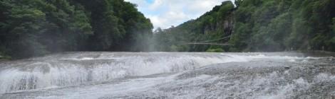 吹割の滝・群馬県【ギャップ萌えのナイヤガラ】
