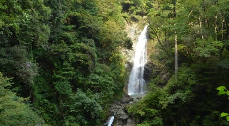 原不動滝・兵庫県【幸福の滝で、滝不足を解消】