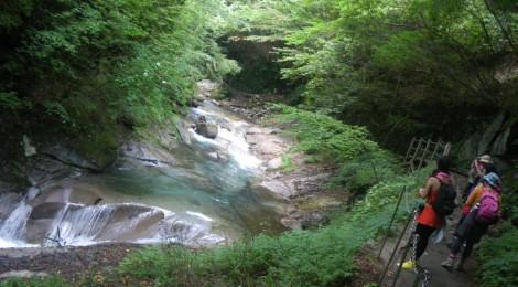 滝ガール、山ガールに入門!