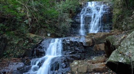 女王滝&瀑雪の滝・広島県【おしい!を、おいしい!に】