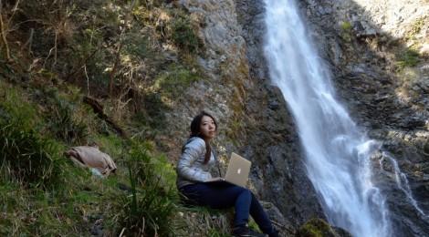 宇嶺の滝・静岡県【滝ノマド、はじめました】