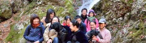 滝&焚き火の会@奥多摩レポート【前編・海沢三滝で滝ご飯】