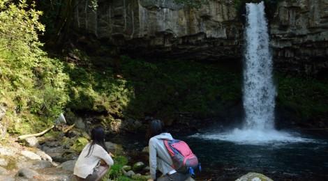 萬城の滝・静岡県【人間の「やりすぎ」に、涙】