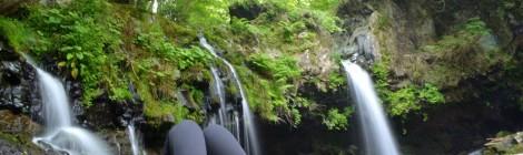 富士・滝ガール会レポート【後編・陣馬の滝でゆるゆる滝時間】