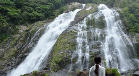 大川の滝・鹿児島県【屋久島に最強の夫婦滝】