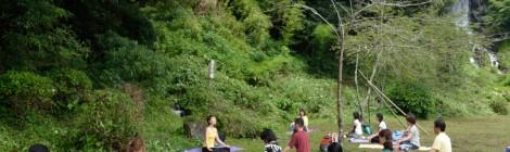 【イベント】新月の滝yoga&瞑想 Vol.1 開催レポート