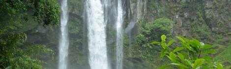 犬飼滝・鹿児島県【龍馬もハマった!潔い直瀑】