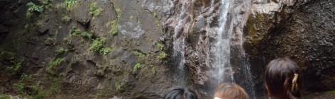 群馬の滝ガール会レポート【後編・麻苧の滝で撮影隊に遭遇】