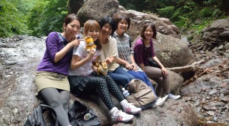 【TV】NHKBS旅番組に滝ガールが登場!