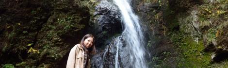 観音山不動の滝/箱島湧水・群馬県【榛名山のパワスポ滝】