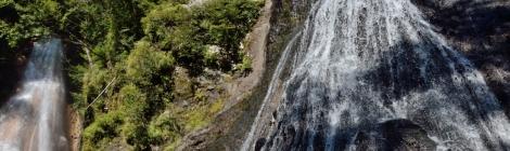 三本滝・長野県【個性溢れる滝トリオのステージ】