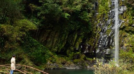 八戸観音滝・宮崎県【滝ガールの憧れ、穴場の美人滝】