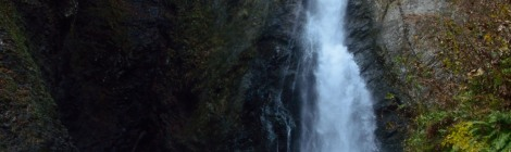 暗門の滝・青森県【世界遺産・白神を駆ける3兄弟】