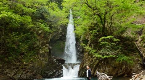 大山滝・鳥取県【諸行無常、台風で大変貌した滝】