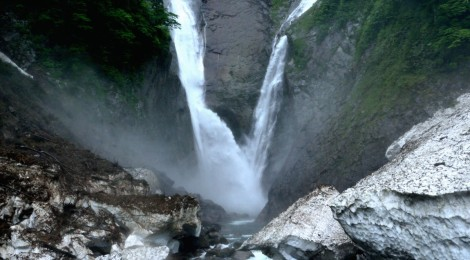称名滝/ハンノキ滝・富山県【幻の日本一に会いにいく】