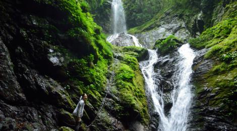 雨乞の滝・徳島県【空間を支配する美しく強い女滝】