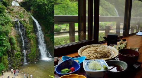 白銀の滝・山形県【銀山温泉で滝見のお蕎麦&温泉】