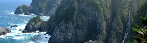 アンモ浦の滝・岩手県【穴場の海岸瀑&番外編・牧場訪問】