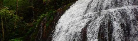 小坂の滝めぐり・あまつばの滝コース【後編:ナメ滝の幸せ】