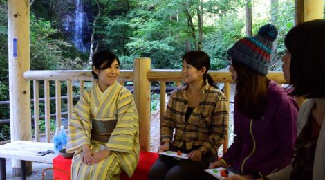 滝野点会@檜原村レポート【五感で味わう滝&お茶のコラボ】