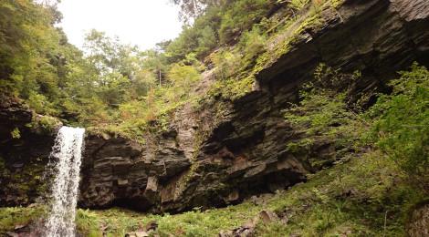 小坂の滝めぐり・あまつばの滝コース【前編:迫力の裏見滝】