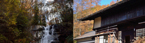 平谷の大滝・長野県【素朴な村の滝&ほっこり農園ランチ】
