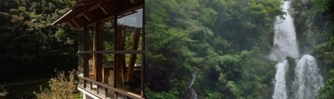 樽の滝・高知県【オーベルジュ土佐山と良縁祈願の滝】
