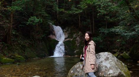 寂地峡五竜の滝・山口県【天に昇る白い竜を追いかけて】