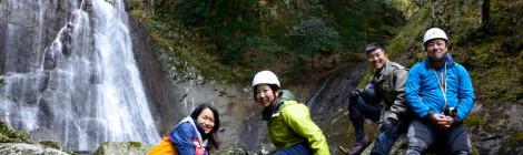 くまの・川遊び部参加レポート【後編・美瀑と妄想滝ガール】