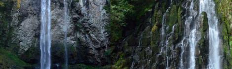 福貴野の滝&余の滝・大分県【潔い夫婦滝&四番目の名瀑】