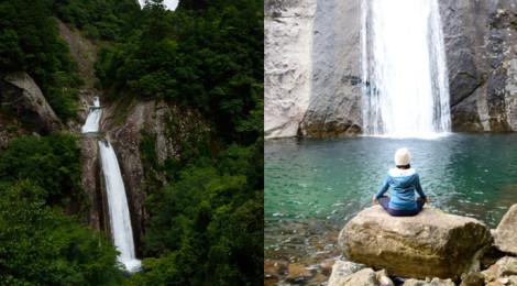 布引の滝・三重県【熊野の女神滝!静かな滝壺で滝ヨガ】