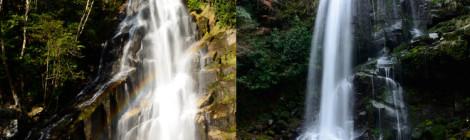 荒滝/隠れ滝・三重県【熊野きらずの森のユニーク滝めぐり】
