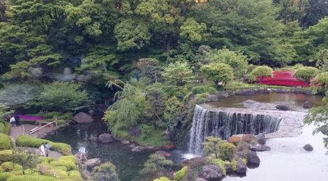 都会の滝!東京のホテル庭園滝【滝のポテンシャル・その4】