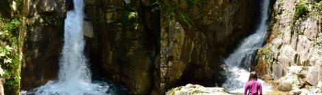 竜神の滝/銅穴の滝・岐阜県【中津川夕森公園の新緑ハイク】