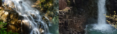 不動滝/高樽の滝・岐阜県【中津川の秘境、付知峡の滝へ】