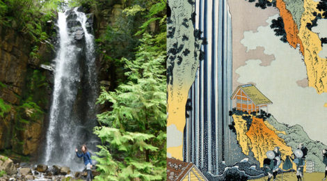 小野の滝/寝覚の床・長野県【浮世絵に残る中山道の人気滝】