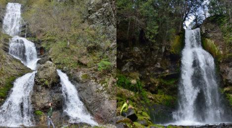 唐沢の滝/尾ノ島の滝・長野県【飛騨街道のナイスコンビ滝】