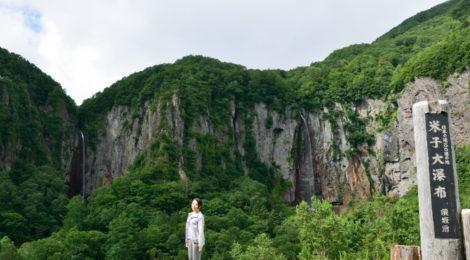 米子大瀑布・長野県【虹がお出迎え!真田丸のあの滝を再訪】