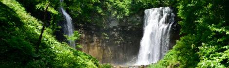 アシリベツの滝/鱒見の滝・北海道【札幌近郊の滝めぐり】