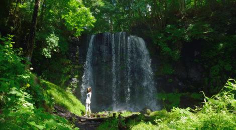 唐沢の滝・長野県【菅平高原に縄文!虹の滝と岩陰遺跡】