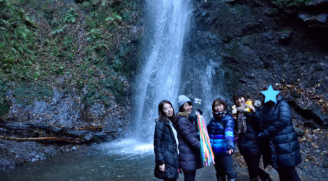 滝ガールズオフ会@道志【滝女たちの止まらない滝ハシゴ】