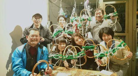 飛騨小坂・冬の滝めぐりツアー【準備編・マイかんじき作り】