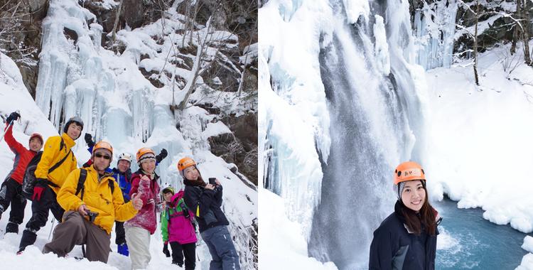 飛騨小坂・冬の滝めぐりツアー【氷の芸術!濁滝に大興奮】
