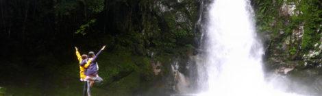 【NHK取材裏話・2】新宮の穴場!鳴谷一の滝で爽快滝ヨガ