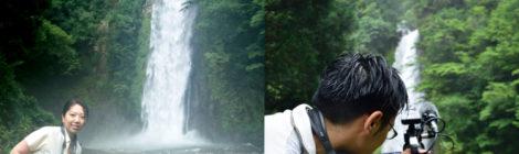 【NHK取材裏話・1】水量大暴れ!宝龍の滝と久々の再会