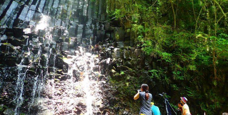 六方の滝・神奈川県【湯河原の柱状節理滝で滝オフ会!】