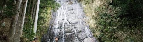 仙人滝・和歌山県【那智の秘境!色川に落ちる大迫力の滝】