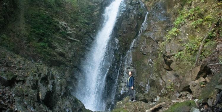 清良平の元滝・山梨県【南アルプス市の穴場滝スポット】