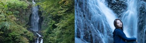 板敷大滝/御殿滝・山梨県【昇仙峡だけじゃない!甲府の滝】